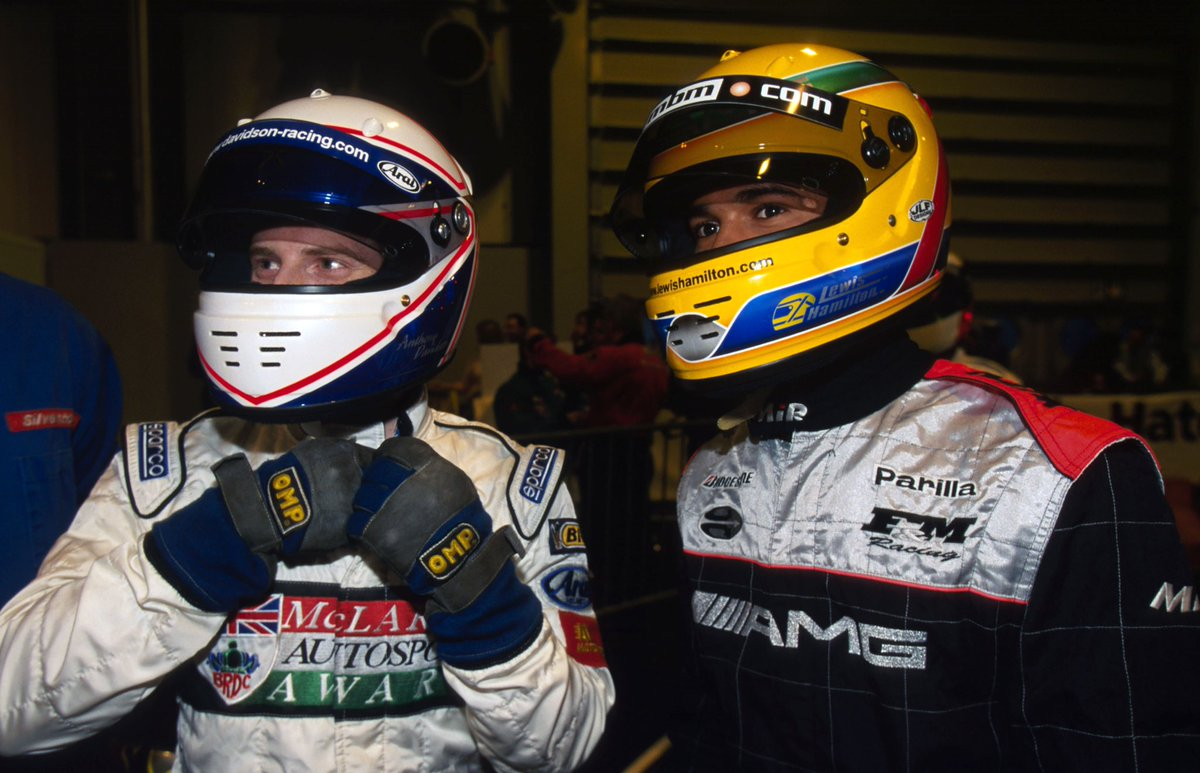 You haven't changed a bit @antdavidson!  Many happy returns from all your friends and colleagues at Sky F1 🎂