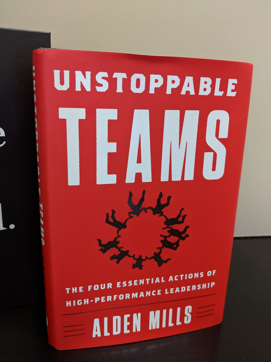 Congrats to @aldenmills on the recent launch of his game changing book, UNSTOPPABLE TEAMS! . If you don&#39;t know already about this guy... Buckle up.   #unstoppable #mindset #leadership #teambuilding #eventprofs #meetingprofs @ExecSpeakers<br>http://pic.twitter.com/G6duhVx58O