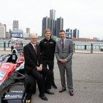 Image for the Tweet beginning: Indy driver @SpencerPigot was in