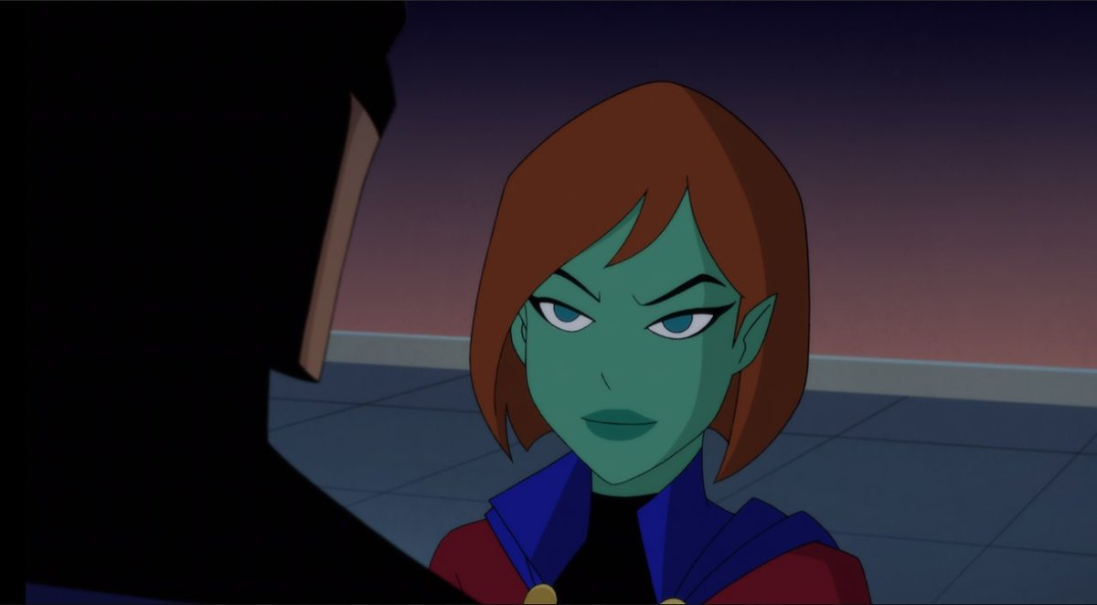 Best Of Dc Girls On Twitter Miss Martian In Justice League Vs The Fatal Five
