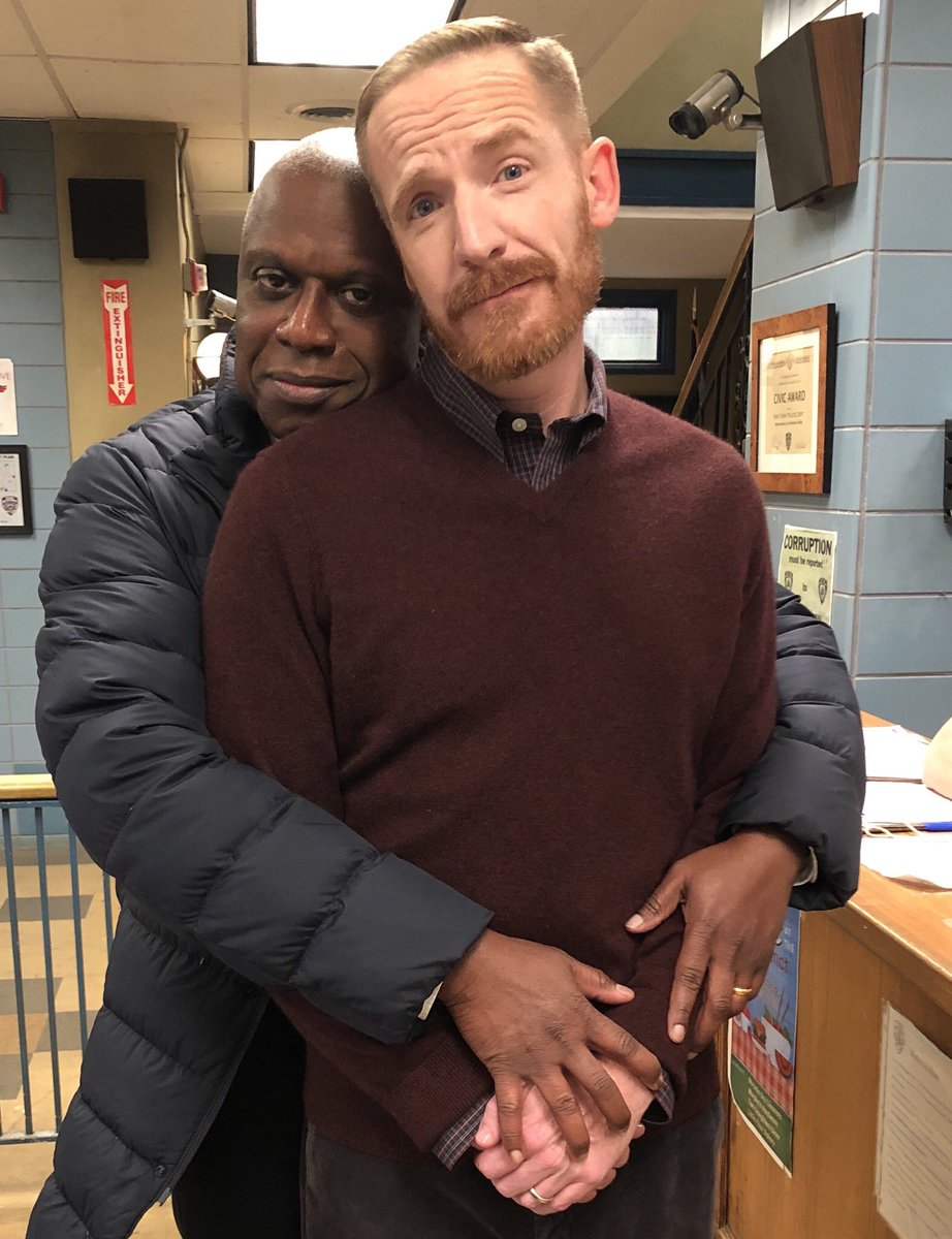 Do you know what love is? Be. Cause. I. Do. WATCH BROOKLYN NINE-NINE TONIGHT! #nbcBrooklyn99