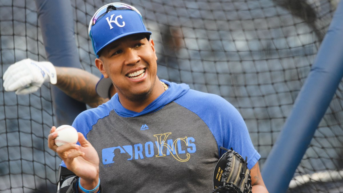 Salvy has many faces, but he&#39;s smiling in all of them.   #AlwaysRoyal  <br>http://pic.twitter.com/KF4RfceduW