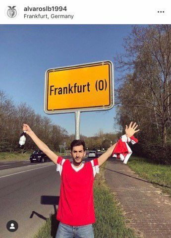 This Benfica fan drove for 1800 miles to the wrong City of Frankfurt ahead of the Europa League clash.   He travelled to Frankfurt (Oder) in Eastern Germany rather than the Main City of Frankfurt.  The two are 600km apart. You have to feel for him.. 😭😂
