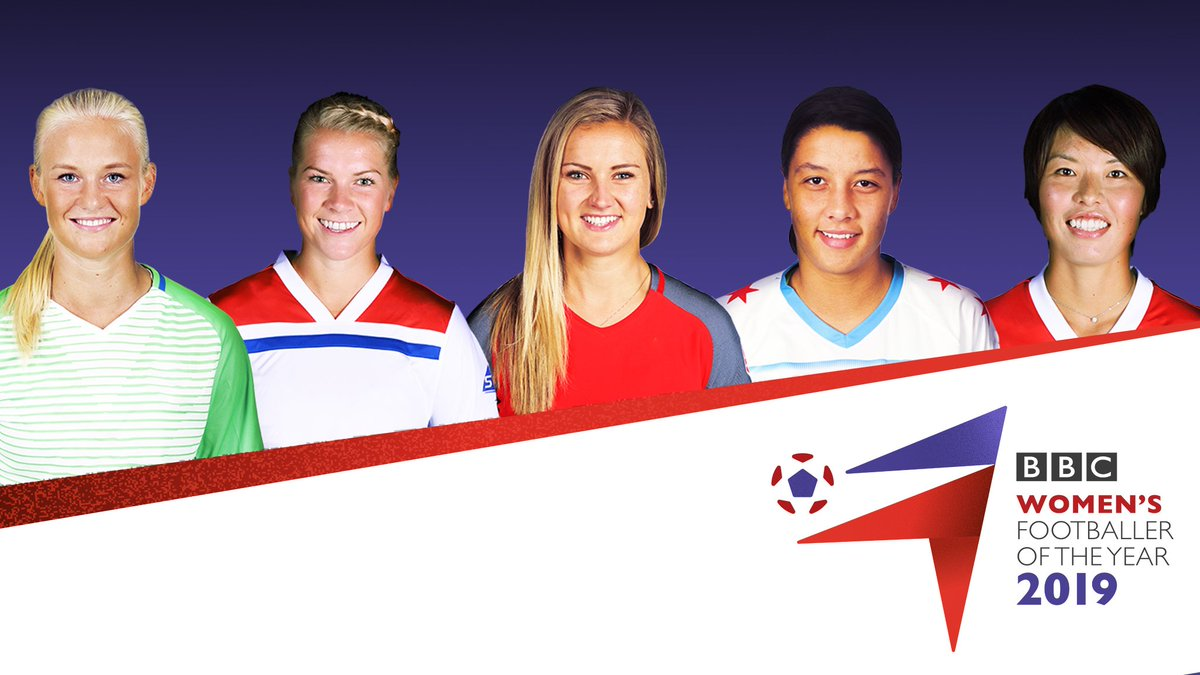 Who is your choice for BBC Women's Footballer of the Year 2019?   ⚽ Pernille Harder ⚽ Ada Hegerberg ⚽ Lindsey Horan ⚽ Sam Kerr ⚽ Saki Kumagai   Vote + full T&Cs here: https://bbc.in/2VGwZLr   Voting closes at 09:00 BST (08:00 GMT) on Thursday, 2 May 2019   #bbcwfoty