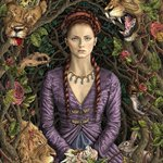 Image for the Tweet beginning: Inspired by Sansa's Purple Wedding