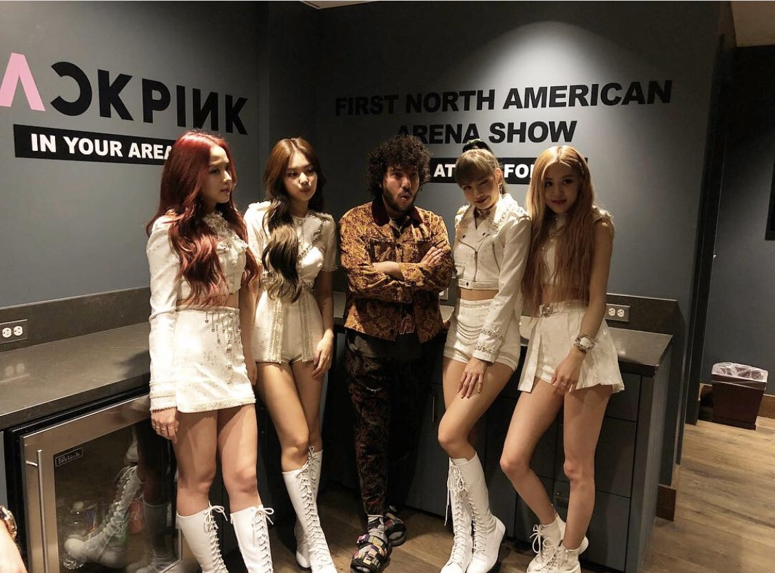 last night i met my idols @ygofficialblink and they told me i'm in the band now