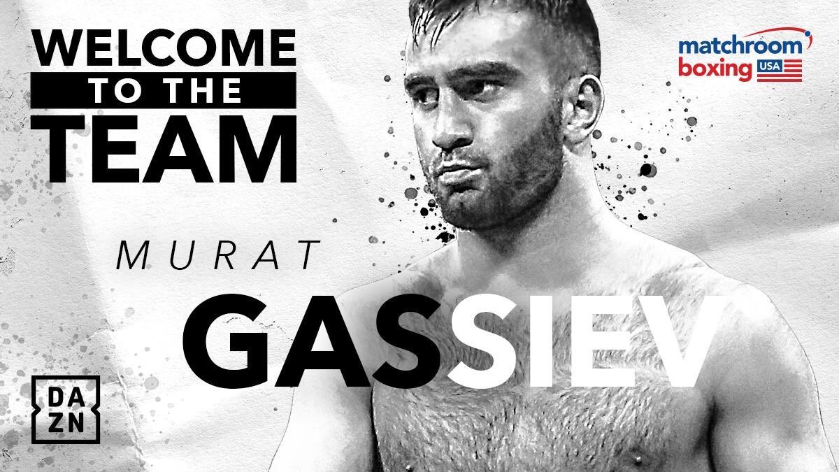 Delighted to announce the signing of unified Cruiserweight champion @MuratGassiev - making the move to the heavyweight division in June! @DAZN_USA @SkySportsBoxing #warriors #ural
