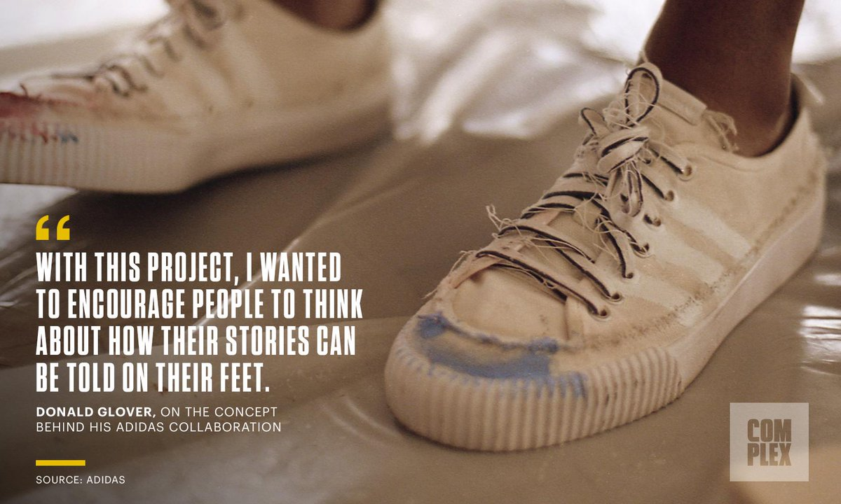 Why Donald Glover and Adidas want you to get their new shoes