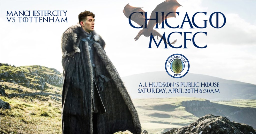 We go again, #ForTheThrone!  Join us on Saturday for the 6:30am start at @AJHudsons as we continue the campaign to retain our title 🏆   #OfficialSupportersClub #ManCityOSC #KingOfTheNorth #WeAreCity @ManCityUS @PLinUSA #MyPLMorning @citctweets