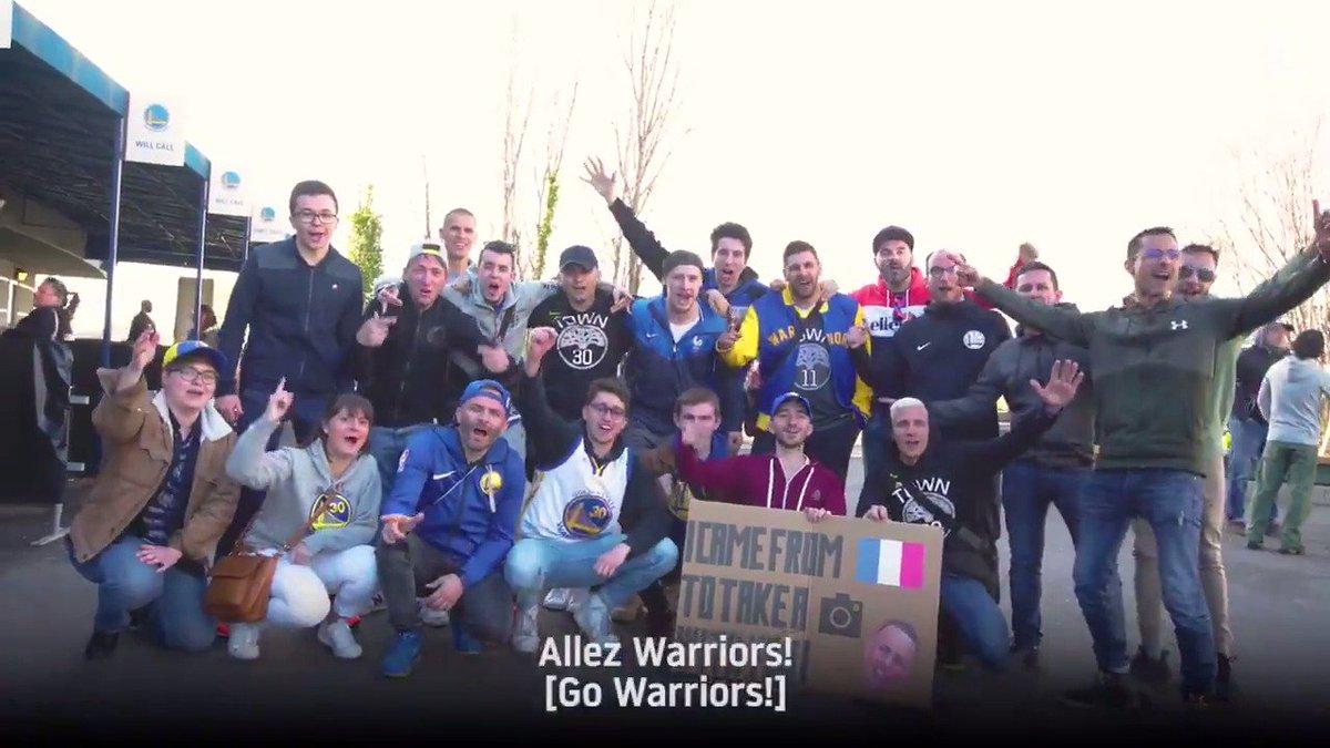 Golden State Warriors @warriors