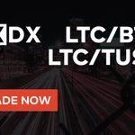 Image for the Tweet beginning: LTC/BTC and LTC/TUSD pairs are
