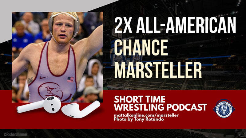 "In case you missed it, check out ""Two-Time All-American Chance Marsteller of Lock Haven"" https://bit.ly/2uToctX  #GoLHU #NCAAwrestling #TheRise"