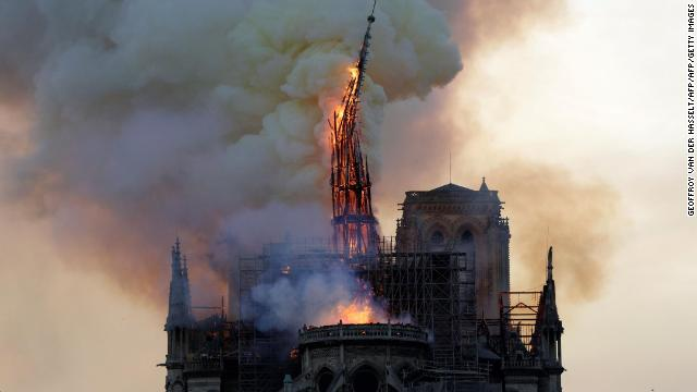 Paris prosecutors are looking into whether the blaze that heavily damaged Notre Dame Cathedral was caused by an electrical short circuit  https:// cnn.it/2ZkfeUr  &nbsp;  <br>http://pic.twitter.com/9pmOmRIpMH