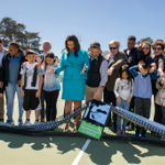 Image for the Tweet beginning: Tennis enthusiasts of all ages