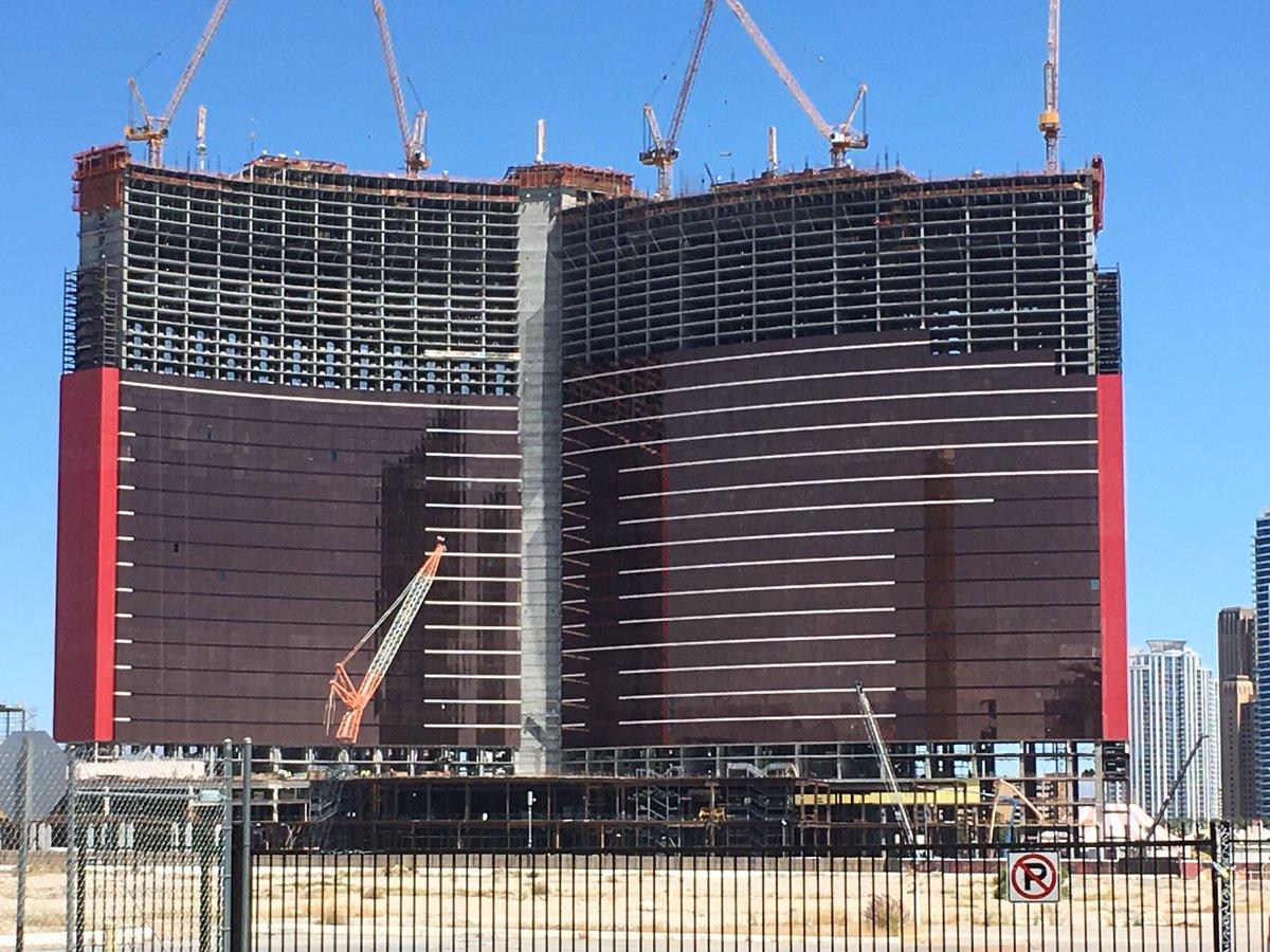 Today's #ResortsWorld construction update  cc @VitalVegas<br>http://pic.twitter.com/Gx8xieqdpf