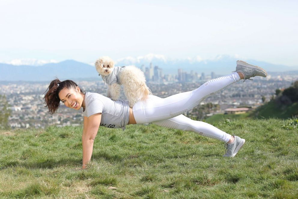 Do you exerpet? Today's National Puppy Day and fitness guru Cassey Ho says exercising with dogs is good for you physically, of course, but also mentally. Have pics of you and your dog working out? Send us a pic :) http://ow.ly/eAnd50qM0KZ #samuelmerritt #nationalpuppyday #exercise