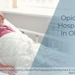 Image for the Tweet beginning: #Opioid related hospitalizations among individuals