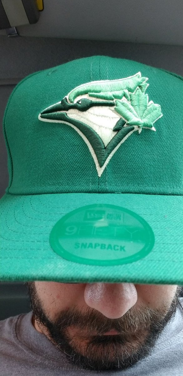 Everywhere I go and I wear the @NewEraCanada #StPatricksDay @BlueJays hat I get the most awesome questions and compliments.  #LetsGoBlueJays <br>http://pic.twitter.com/jhBunGMmak