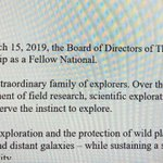 Guess who just got word that she's been accepted as a Fellow of the Explorers Club?! This girl! So excited to join this group of prominent #explorers who made famous firsts to the North Pole, South Pole, ocean depths, Everest summit & the moon!  @ExplorersClub #explore #nature