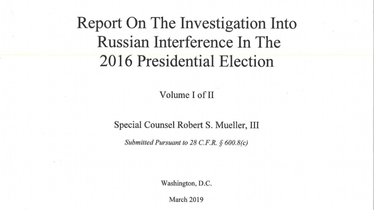Read and search the full Mueller report for yourself: https://cnn.it/2ZjpHPQ