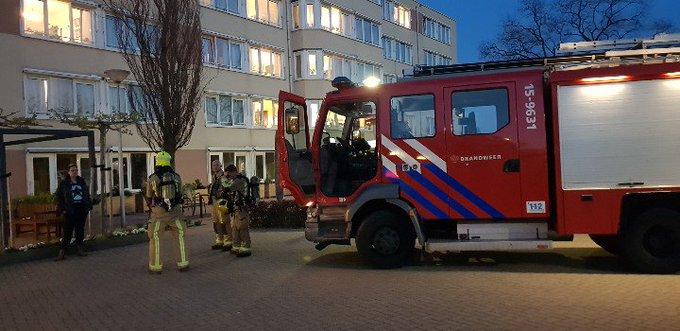 Wateringen Binnenbrand in de Ark. Brandweer tp Ze zijn aan het zoeken naar de evt brand. https://t.co/BtK6rv5GqW