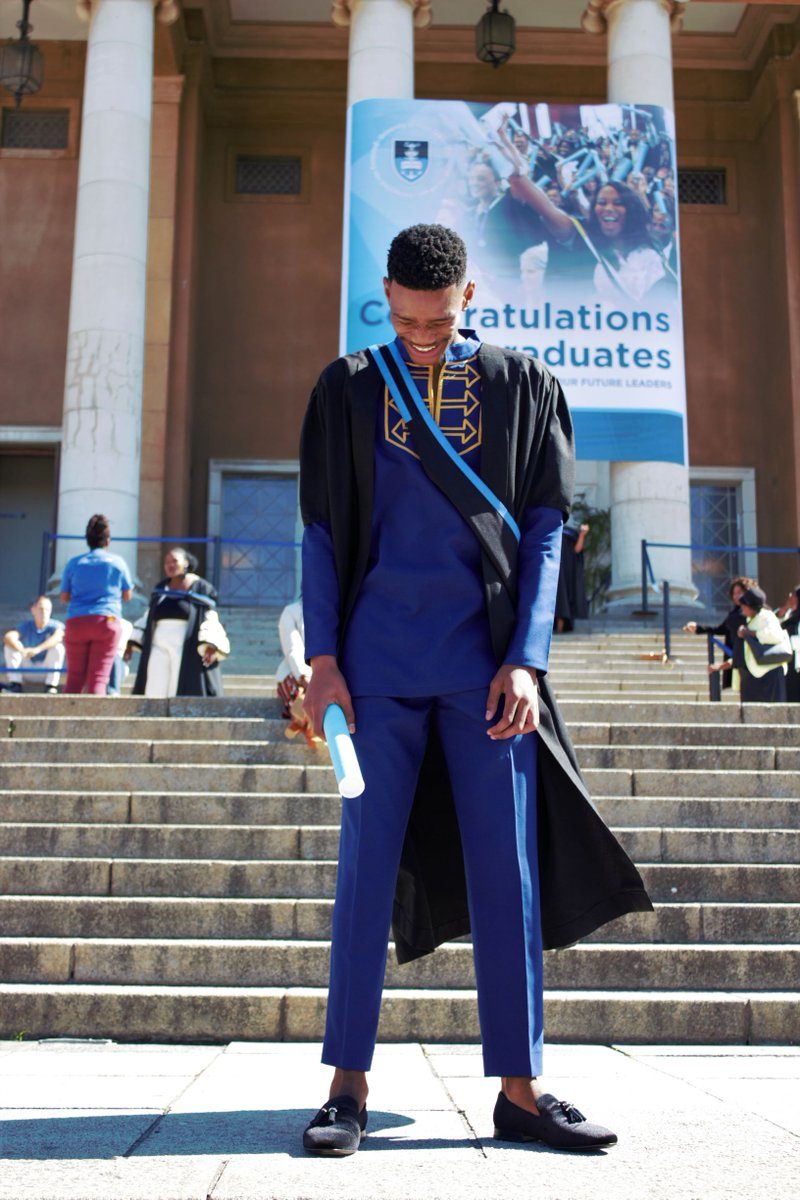 About yesterday. This was the best day of my life!  Looked so gooooooodaaa! Say hello to your UCT GRADUATE! #UCTGrad2019 #UCTGraduate . @FabAcademic you did the thingsss<br>http://pic.twitter.com/b9MCDaKOAG