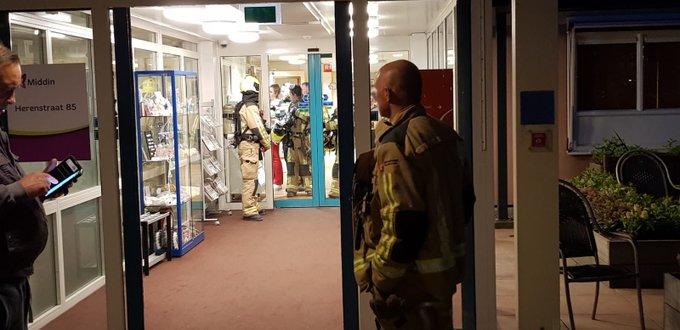 Brandweer heeft na onderzoek geen brand kunnen vinden in De Ark in Wateringen, was alleen brandlucht buiten geroken https://t.co/jmuGXib5uK