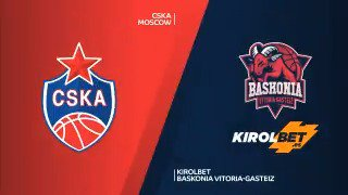.@Baskonia overpowers CSKA Moscow 68-78 on Thursday night at Megasport Arena to even their best-of-five playoff series at 1-1 Highlights...