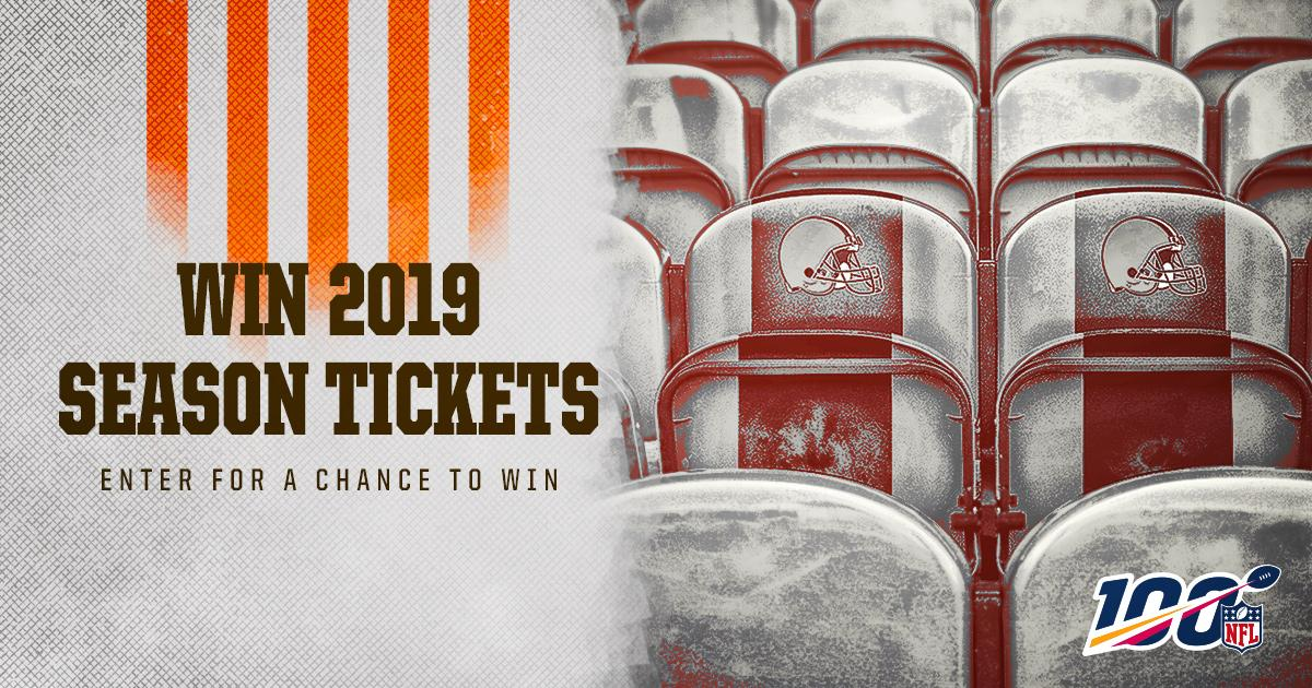 In honor of #NFL100, we're giving away a pair of 2019 Season Tickets!  Enter for a chance to win » http://brow.nz/SYs7l2
