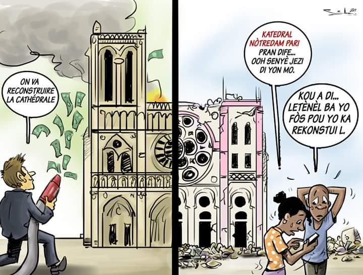 #PetroCaribeChallenge #AyitiNouVleA's photo on #NotreDame