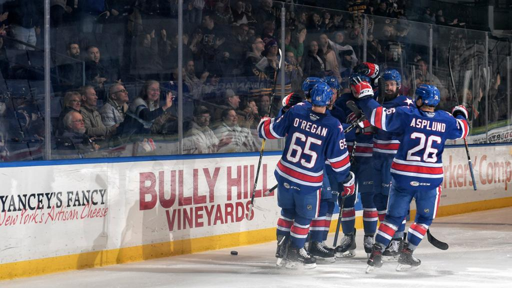 .@AmerksHockey is gearing up for their playoff run, which kicks off this Friday.   Here's who you should keep an eye on, courtesy of @duffersabres: http://bufsabres.co/e2jozM