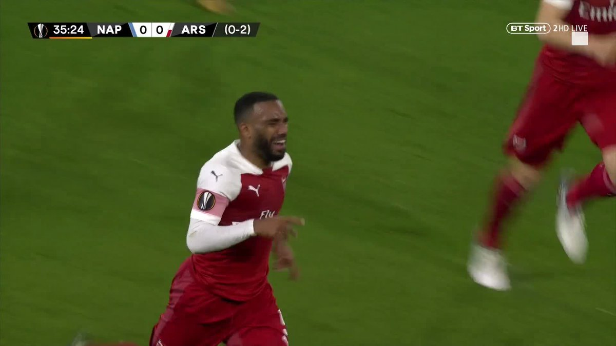 Football on BT Sport's photo on Lacazette