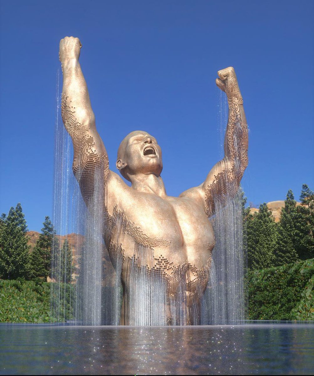 Chad Knight's digital art #sculptures
