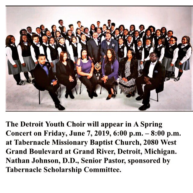 Detroit Youth Choir (@DycOfficial) on Twitter photo 2019-04-18 19:51:21