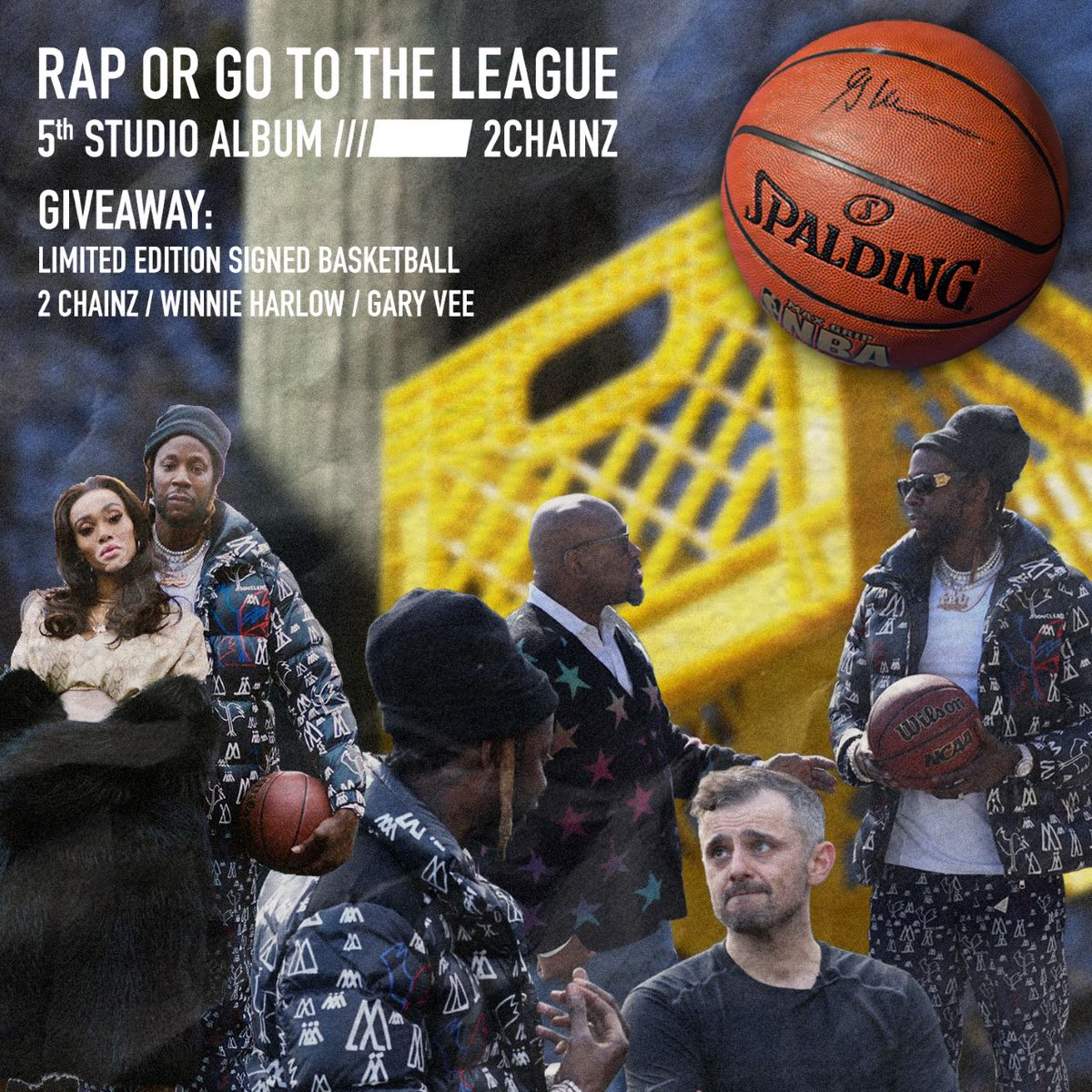 If u already seen that #CrateTalk on @youtubemusic you kno I had some big guests...they also signed a #RapOrGoToTheLeague BBALL and you could win it now ➡️https://2Chainz.lnk.to/SignedBasketball…
