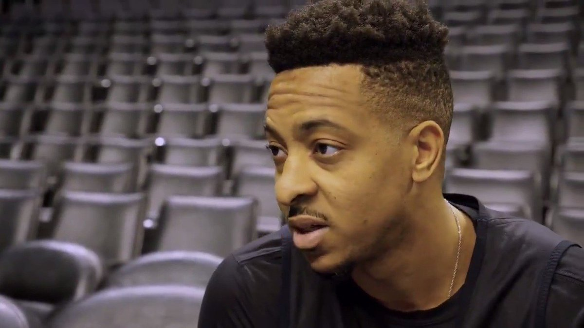 """I've always said I'm a shark: sharks eat, sharks are killers, they figure out ways to provide for themselves."" - @CJMcCollum  #RipCity"