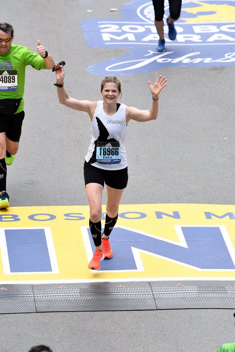 Boston Marathon 2019!  I ran 3:24:04 for a 5+min PR! Such a dream come true. I'm already excited for #Boston2020! #oisellevoleé #teamfloridatrackclub #Boston2019 <br>http://pic.twitter.com/kssDNIC1WJ