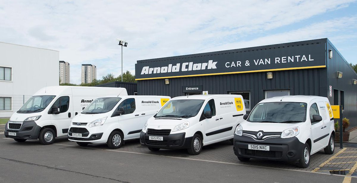 b77551c639 Our vans come in all different sizes and all of them currently have 50%  off! Hire before 30th April using code VAN5   http   www.arnoldclarkrental.com ...