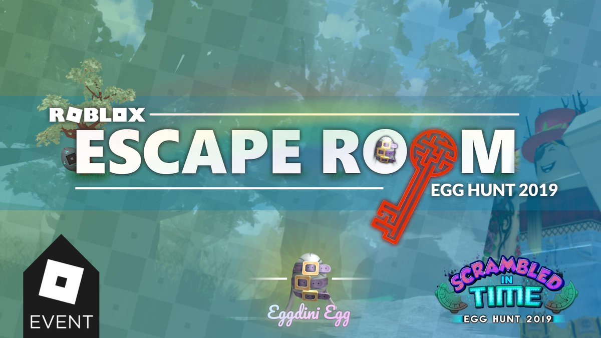 Roblox Escape Room Egg Event 2019 Devultra On Twitter This Year Escape Room Is Proud To Be A Part Of Roblox S Egghunt2019 Event Escape Our All New Enchanted Forest Map With The Eggdini Egg To Earn A Prize