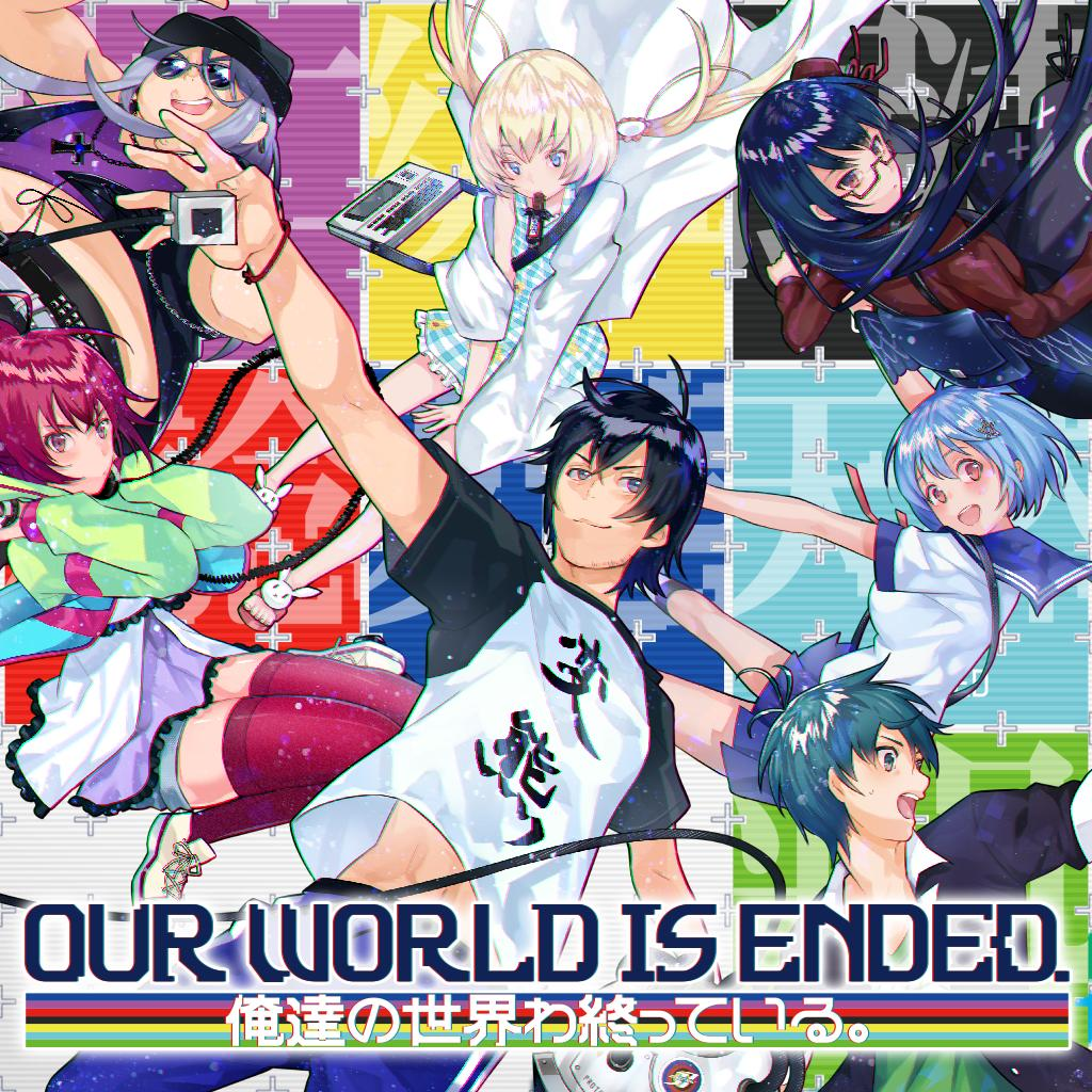 #OurWorldIsEnded is out today! And to celebrate this, we have #Switch and #PS4 codes to give away!  RT & Follow for a chance to win the game (ends on Monday). Find out what happens when a team of developers find itself stuck between reality and their game worlds!