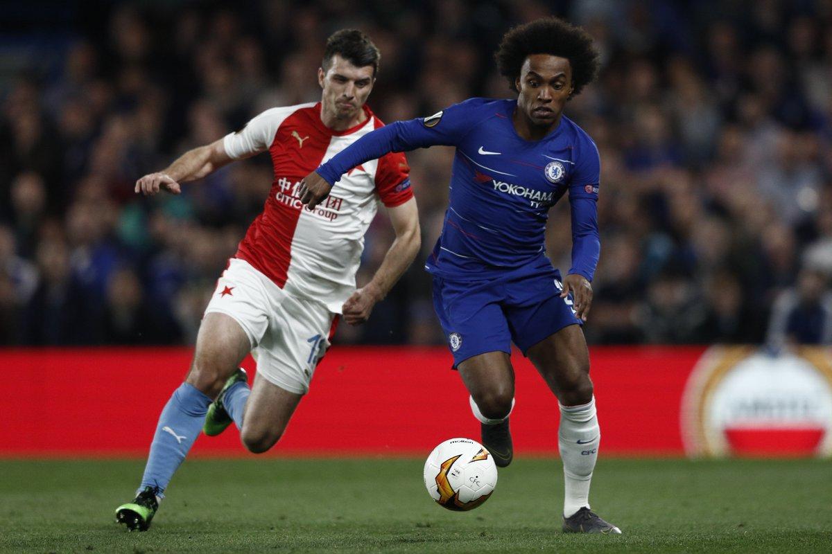 Xem lại Chelsea vs Slavia Praha