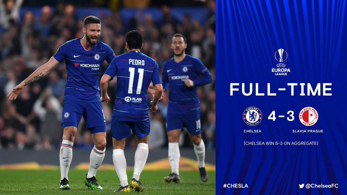 Chelsea vs Slavia Prague 4-3 Highlights