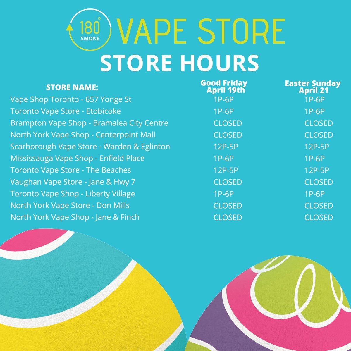 Toronto vape shops
