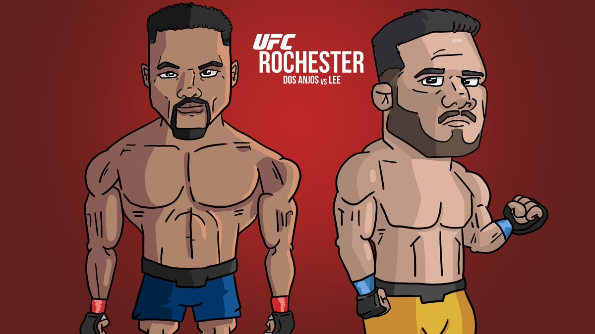 #UFCRochester is one of the more interesting upcoming matchups in my opinion. @RdosAnjosMMA vs @MoTownPhenom is like the first 165lbs fight, showcasing two high level 155er's without the drawbacks of being drained by a weight cut. Difficult to make picks. #endextremeweightcuts https://t.co/wqbo2SazqD
