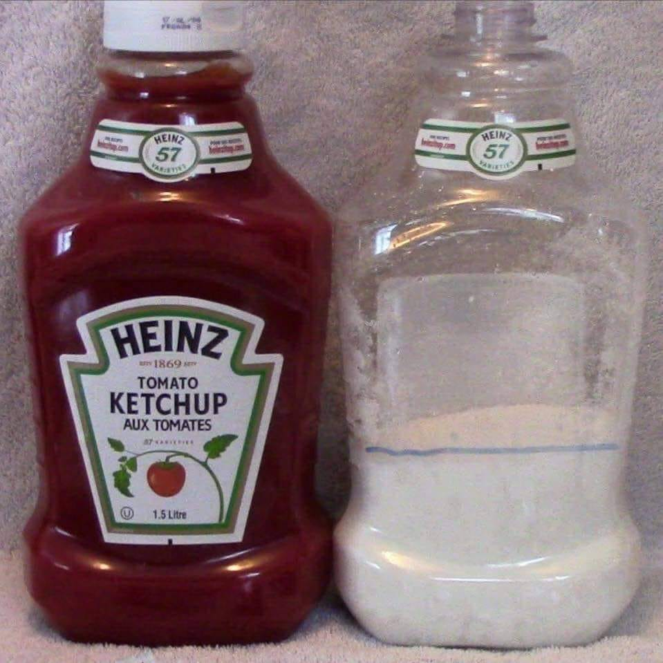 Amount of sucrose in ketchup. Astonishing when you actually see it in front of your eyes @lowcarbGP @ProfTimNoakes