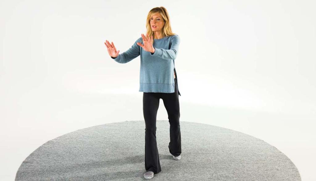 Tai chi, exercise based on martial arts, and involving slow, choreographed moves, can help lower blood pressure and build strength. Learn more from fitness expert Kathy Smith: http://spr.ly/6011EdUTD