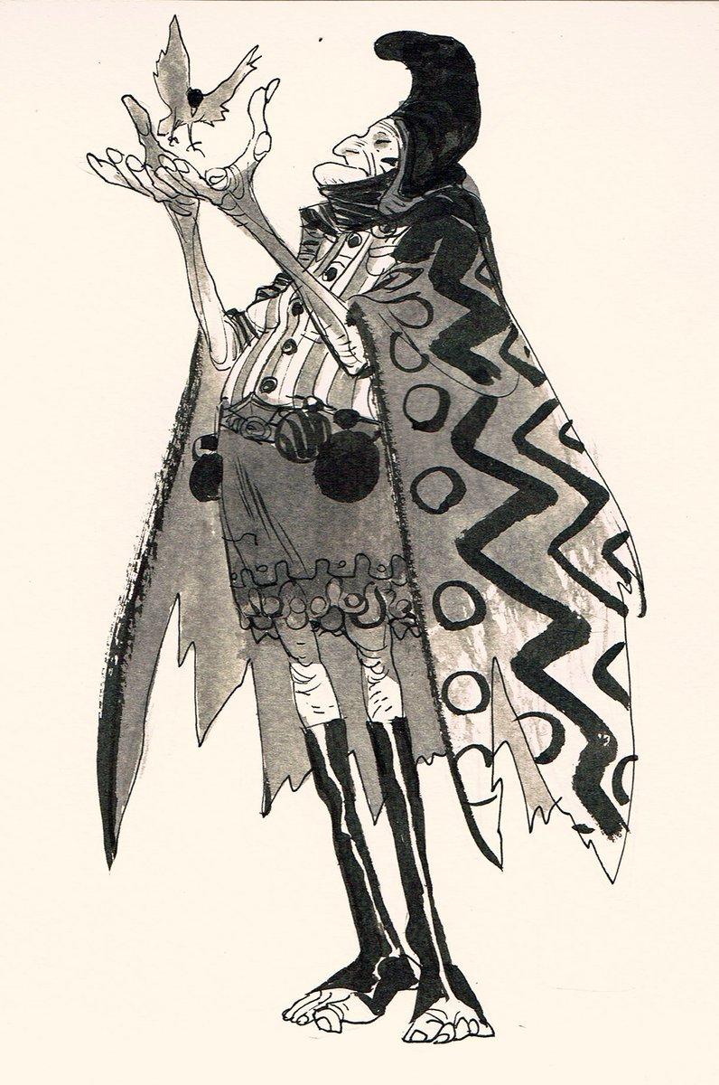 Baba Yaga. #ink #folklore