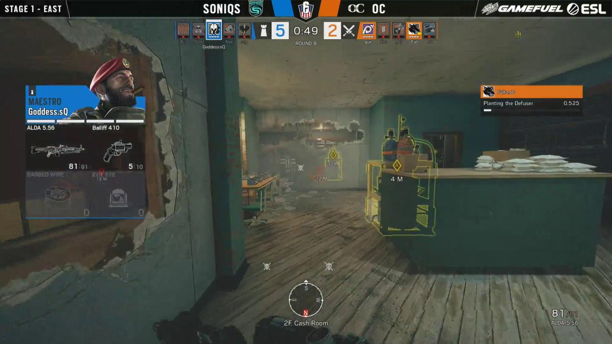Image for the Tweet beginning: .@Goddess_R6 does the unthinkable here
