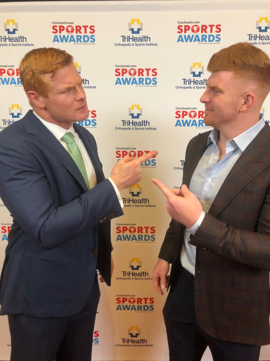 Rocky Boiman On Twitter Getting Geared Up For Enqsports Awards It S Like Looking In The Mirror Andydalton14