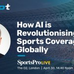 Image for the Tweet beginning: Meet us at @SportsPro Live